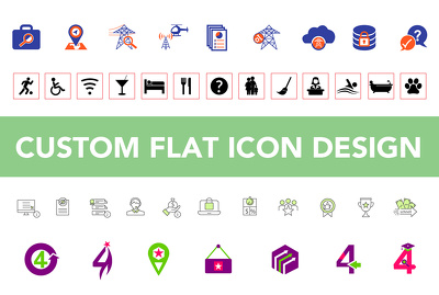 Design one icon for your web site