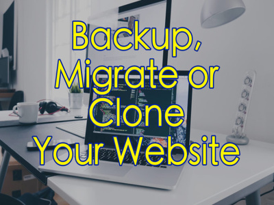 Backup, migrate or clone your Wordpress website