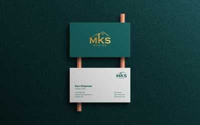 Double sided business card with Unlimited Revisions