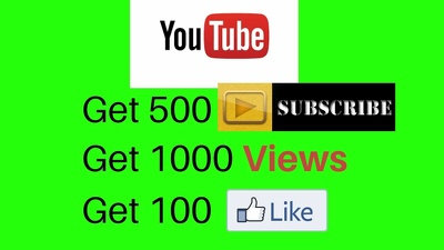 Add 500 Active Non Drop YouTube Subscribers to your Channel