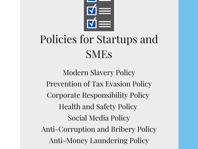 Provide any 4 of the listed standard policies