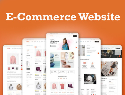 Design responsive e-commerce website for your business