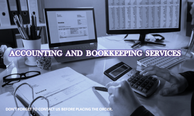 Do your accounting from basic entries up to final accounts