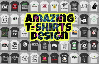 Deliver amazing tshirts graphic design bundle
