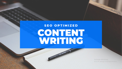 Write SEO Optimized Web Content for your Website or Blog