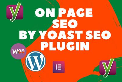 Do wordpress yoast seo optimization your website