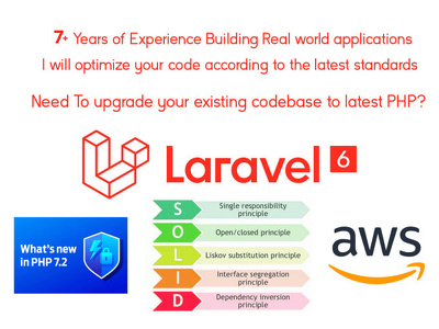 Upgrade your php or laravel code
