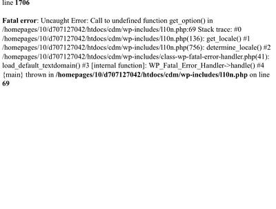 Fix website error loading page (bugs)