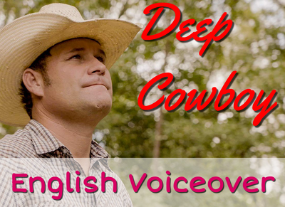Male deep US English voiceover