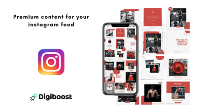 Create 3 branded high quality posts for Instagram