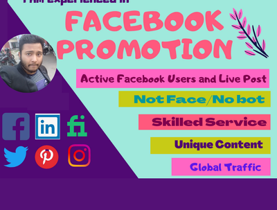 I will advertise and promote your business using social media