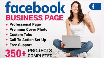 Create, setup and optimization Facebook business page