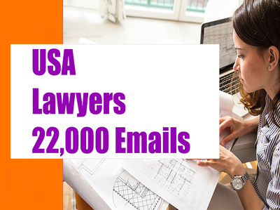 USA Lawyers 22K Email list, Email Database, Email Addresses