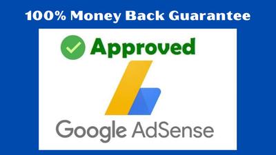 Design adsense approve unique niche website