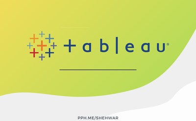Create 1 Tableau Dashboard