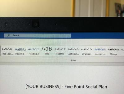 Provide a social media consultation for your brand.