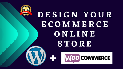 Create ecommerce website and online store with woocommerce