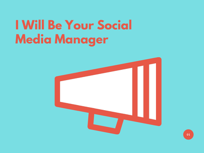 Manage your social media accounts for 5 days