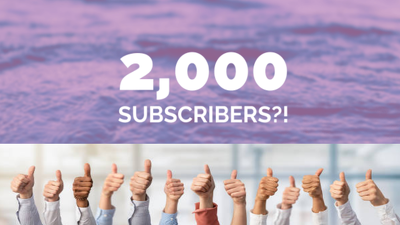 Provide 2000 YouTube subscribers to your channel