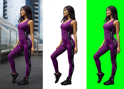 Photoshop cut out, remove background 20 image for ecommerce