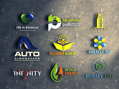 Design creative logo + 4 concept+ unlimited revisions+ All File