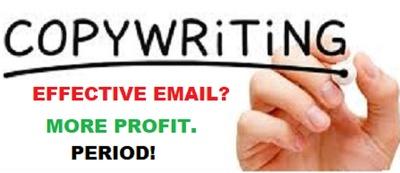 Email Marketing Effective Copywrite Increase Sales - USA or UK