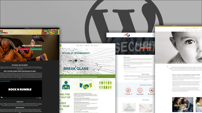 Build a professional one-page WordPress website