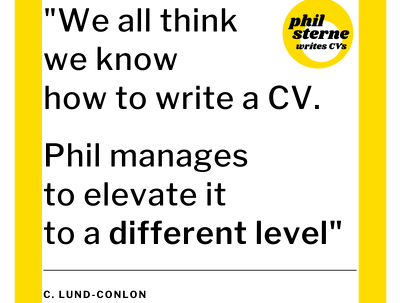 Troubleshoot your CV in 30 minutes and give you expert guidance