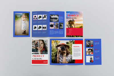 Design 10 pages catalog, booklet, magazine and InDesign jobs