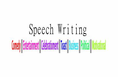Write 1 Professional Speech