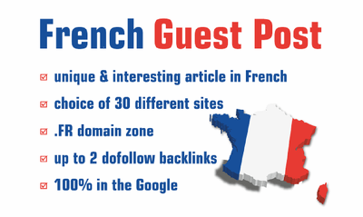 Guest Post On France Sites .fr