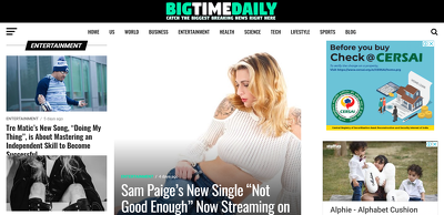 Publish Article on Big Time Daily, Bigtimedaily.com -Google News