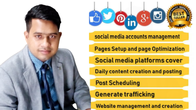 Your social media manager and virtual assistant