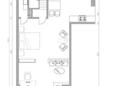 Design your house office, Make 2d Floor plans