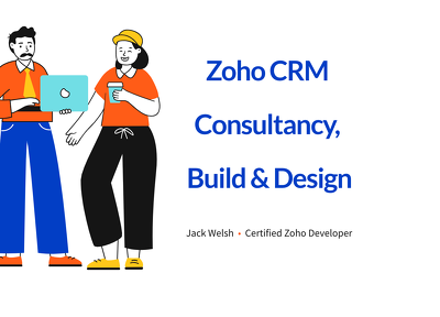 Build, customise and enhance your Zoho CRM/Applications