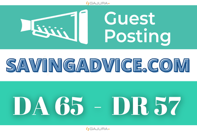 Guest Post on SavingAdvice - SavingAdvice.com DA 65 Dofollow