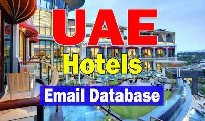 UAE Hotels Email Database