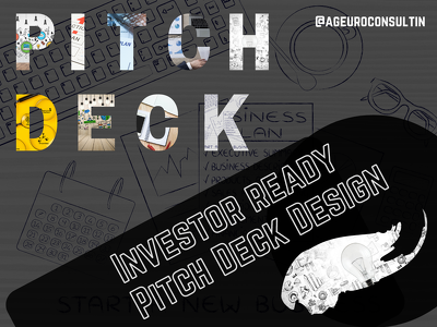 Draft an investor ready pitch deck for your startup