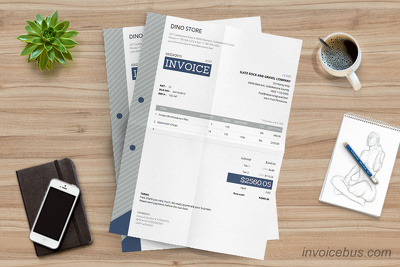 Design a Professional Eye-catching Invoice For Your Business