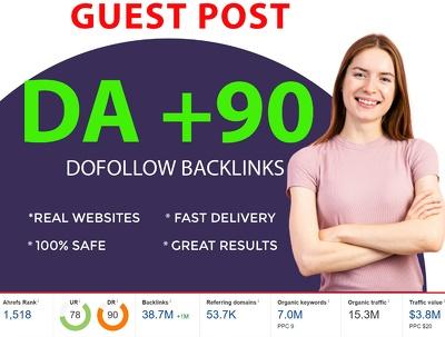 Guest Post On DA 90+ Site