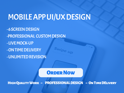 Professional Mobile app Design - UI/UX for Android/iOS App