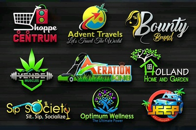 Do professional logo design+unlimited revisions+creative concept