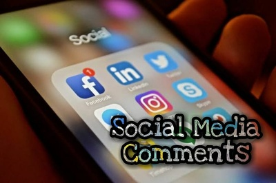 Leave comments on your website, YouTube, Instagram, Facebook