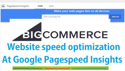 Improve speed of bigcommerce site