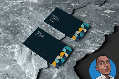 Design stylish and modern business cards in 24hrs