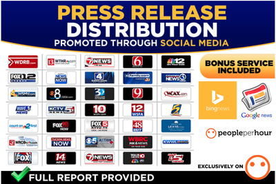 Distribute press release to 400 news sites including Digital
