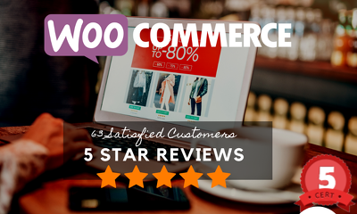 Do 4 hours of WooCommerce customizations, fixes or updates