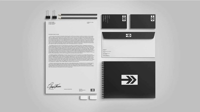 A modern brand identity designing for your business