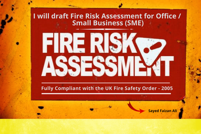 Fire Risk Assessment for an Office /  Small Business (UK)