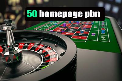 50 PBN links Casino | Poker| Gambling sites from top casino blog